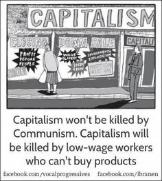 What kills capitalism is its selfish greed, at all costs, that will destroy all in its wake and so cause revolution against it !!!
