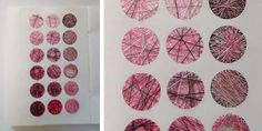 Elisabeth Rutt » Sketchbooks 3 Geometry, Calendar, Textiles, Sketchbooks, Holiday Decor, Gallery, Pink, Architecture, Home Decor