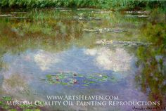Claude Monet Water Lilies The Clouds painting for sale, this painting is available as handmade reproduction. Shop for Claude Monet Water Lilies The Clouds painting and frame at a discount of off. Claude Monet, Renoir, Monet Paintings, Landscape Paintings, Landscapes, Flower Paintings, Landscape Art, Artist Monet, Lily Pond