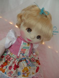 Mattel My Child Doll ~ Customers Blonde Topknot ~ After