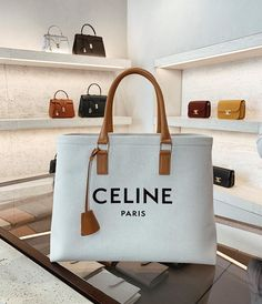 "Marianna Hewitt on Instagram: ""new work / travel bag 👜 I had been wanting a canvas bag for so long and finally found the perfect one 🙌 #CELINE"""