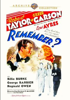 Remember? - DVD-R (Warner Archive On Demand Region Free) Release Date: Available Now (Amazon U.S.)
