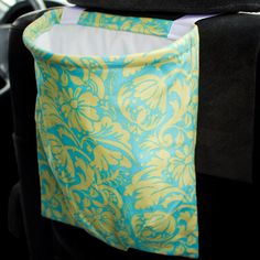 Items similar to Car Trash Bag Reusable Auto Garbage or Storage on Etsy Car Trash, Trash Bag, Sewing Hacks, Sewing Crafts, Car Storage, Reusable Shopping Bags, Projects To Try, Stitch, Unique Jewelry