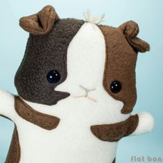 Custom Guinea Pigs that look like your piggy now available.