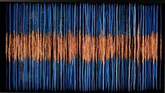 """""""MORE BLUE SOUND"""" 72cm x 41cm x 9cm"""