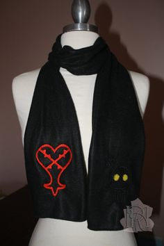 Kingdom Hearts scarf!!