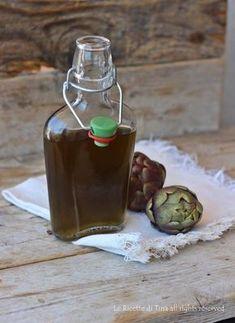 Liquore al carciofo ricetta, un ottimo digestivo da servire freddo a fine pasto,liquore facile e dal successo garantito!!