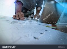 Business Documents On Office Table With Smart Phone And Laptop Computer And Graph Business With Social Network Diagram And Man Working In The Background Стоковые фотографии 323809181 : Shutterstock