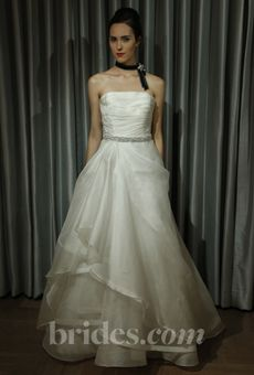 Brides: Alyne 'Marie' - Fall 2013   Bridal Runway Shows   Wedding Dresses and Style   Brides.com