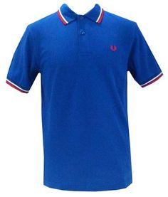 ea1335f4 www.brokencherry.com #fredperry #mod #fashion Men's Olympian Twin Tipped  Shirt $79.00