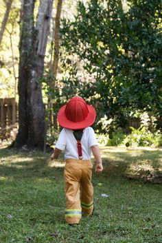 Halloween Costumes 2013: Fireman Pants Tutorial