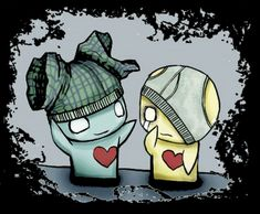 "Pon and Zi (likes and dislikes) These two icons have garnered an enormous following, simply from being so freaking adorable. In the comics ""emo"" is mentioned several times. They actually get kind of dark and depressing in a few, with cute/sad messages as they are portrayed as a couple."
