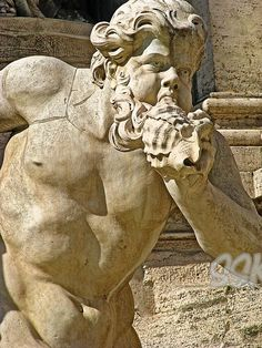 Fontana di Trevi - particolare