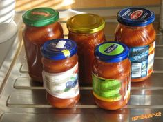 Rajský protlak Edible Plants, Salsa, Jar, Food, Essen, Salsa Music, Meals, Yemek, Jars