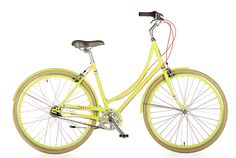I have this gorgeous bike in orange, and the new Chartreuse is making me drool!