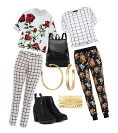 """2 & Two"" by kittymodern on Polyvore"
