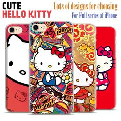 Hello Kitty Cute hard plastic scratch-resistant Matte Phone Case shell For Apple iPhone 7 6 5 se 4 – World of Hello Kitty Merchandise Hello Kitty Merchandise, Iphone 7, Apple Iphone, Shells, Plastic, Phone Cases, Free Shipping, Cute, Iphone Accessories