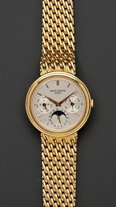 Gold Patek Philippe for women