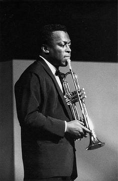 Miles Davis. 1960. Photograph by Franz Hubmann