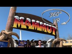 A mine runway (Custom Mine Train) with a length of 1030 meters, ride height of 13 meters and a maximum speed of 50 km / h. Enjoy It, Vr, Outdoor Decor, Youtube, Italy, Youtubers, Youtube Movies