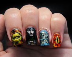 Nail Wish Seven Deadly Sins Challenge Day 11 And Envy The Lord Of Ring Art