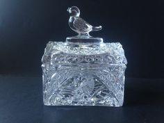 Hofbauer The Byrdes Bird Crystal Trinket Box #Hofbauer