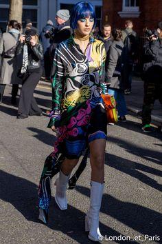 JW Anderson Street Style London Fashion Week LFW FW18