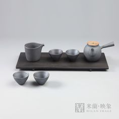 ceremony,Tea table,Tea service portfolio,ceramic,Cast iron,teapot,teacup,stone,tea tray, duanzhou inkstone 新中式 日式 茶室 茶道 茶几 茶具组合 茶壶 茶杯 陶瓷 茶盘 香道 香道具