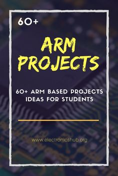 ARM Processor is used widely in consumer electronics due to low power consumption. Here is the list of based projects , ARM using GSM , etc with its circuit and explanation. Computer Engineering, Electronic Engineering, Electrical Engineering, Chemical Engineering, Civil Engineering, Robotics Projects, Engineering Projects, Arduino Projects, Hobby Electronics