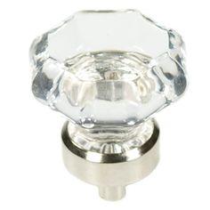 Belwith P3639-GLCH 1-1/2  glass knob