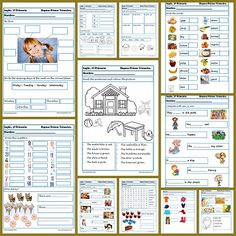 Recursos de inglés: Fichas de ejercicios de inglés para primaria Hoy os dejamos la segunda entrega de ejercicios de inglés para primaria. Hoy toca repasar