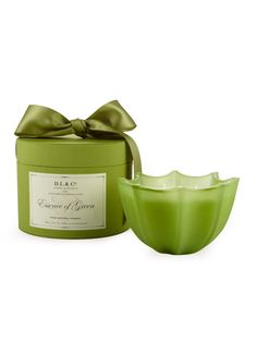 Essence of Green Candle by D.L.