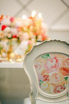 WedLuxe– Painted Beauty | Photography by: AGI Studio Follow @WedLuxe for more wedding inspiration!