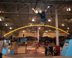 Erik Bailey skating the scary Rainbow Rail during the BCSD 2012.    Full edit: http://www.be-mag.com/article/2414-Second-Official-Be-Mag-Bitter-Cold-Showdown-2012-Edit-by-Sam-DeAngelis