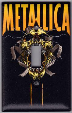Metallica Skull Music Bumper Sticker x James Hetfield, Rock N Roll, Pop Rock, Hard Rock, Art Metallica, Metallica Tattoo, Rock Logos, Rock Band Posters, Robert Trujillo