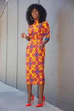 African dress. Ankara dress by MeAyraba on Etsy