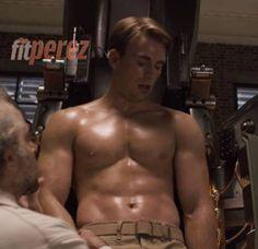 Chris Evans' Captain America Workout