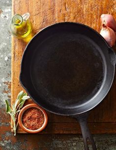 Cast Iron 101: http://www.midwestliving.com/food/comfort/10-top-recipes-for-cast-iron-pans/page/10/0