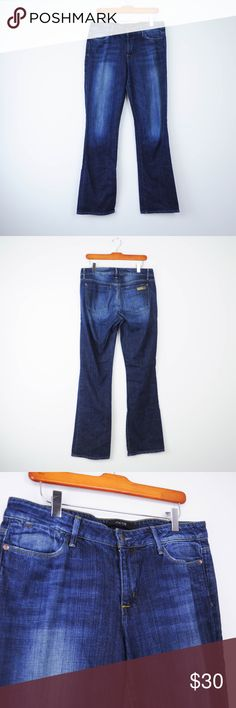 Joes Jeans 30 Icon Fit Bootcut Joes Womens Jeans Sz 30 Icon Fit Wintour Medium Wash Mid Rise Bootcut K05 Description  Material: 98% cotton, 2% elastane Size: 30  Measurements (in inches):  Waist: 16.5 Rise: 9.5 Inseam: 34.5  **All our products come from a clean and smoke-free household.** Joe's Jeans Jeans Boot Cut