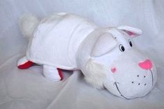 363abc74527 Flip A Zoo Candie Kitten Smoochie Pup 16 inch 2 in 1 stuffed plush animal