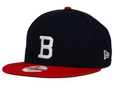 Boston Braves New Era MLB 2 Tone Link Cooperstown 9FIFTY Snapback Cap  Braves Baseball ff043e4e988
