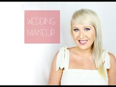 Summer wedding makeup tutorial!