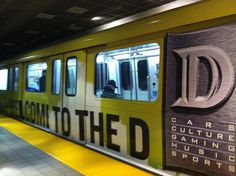 Intricate Art in the Detroit People Mover Stations