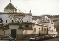 The Paris Mosque was built between 1922 and 1926 in a composite Moorish style. The architects -- Robert Fournez, Maurice Mantout and Charles Heubès...