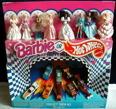 McDonald's Barbies & Hot Wheels