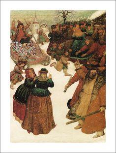 The Fool and the Fish. Russian folk tale. Illustrator Gennady Spirin.