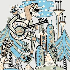 Ola Volo Murals, Doodles, Drawings, Illustration, Projects, Art, Log Projects, Blue Prints, Wall Paintings