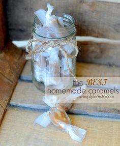 The Best Homemade Caramels