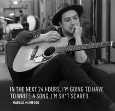 Marcus Mumford, The best thing to happen since sliced bread