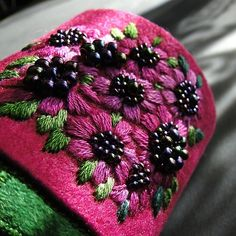 beauty flowers  green (proj. agat.handmade), do kupienia w DecoBazaar.com